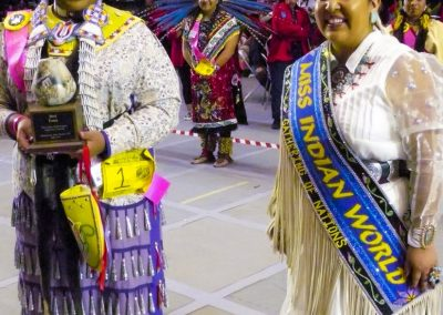 Miss Indian World and runner up
