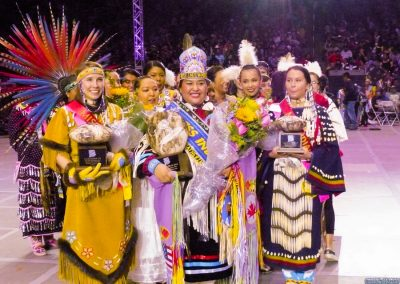 Miss Indian World and runner ups