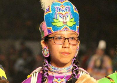 Girl at Gathering of Nations