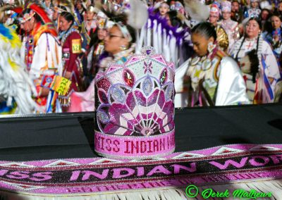 miss indian world sash and crown