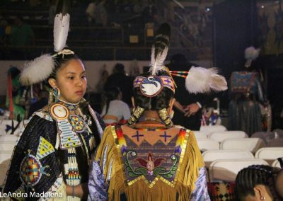 Girls at Gathering of Nations