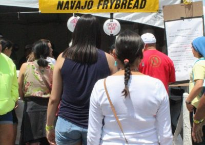 Frybread stand