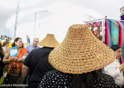 Person wearing a hat