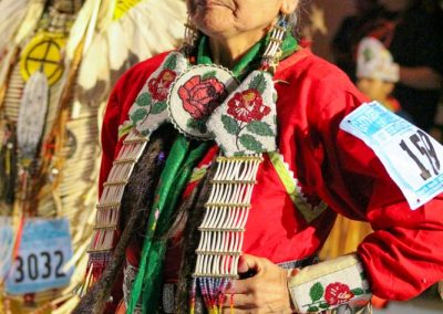 Woman at Gathering of Nations