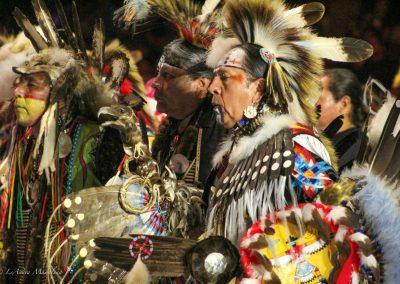 Men at Gathering of Nations