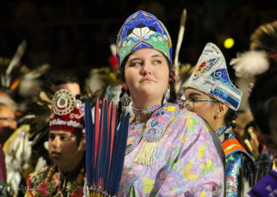 Girl at Gathering of Nations