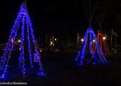 Teepee lights