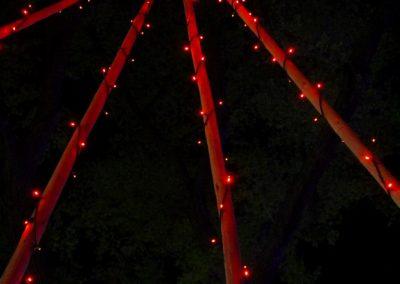 Teepee with lights