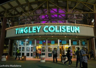 Tingley Coliseum sign