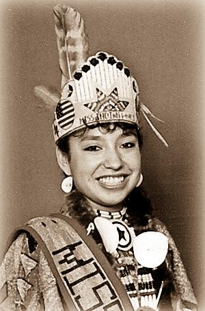 1990-1991 Lovina Louie