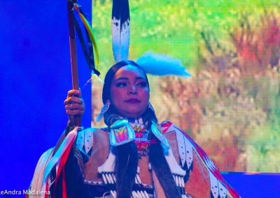 woman at Miss Indian World