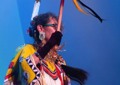 participant at Miss Indian World