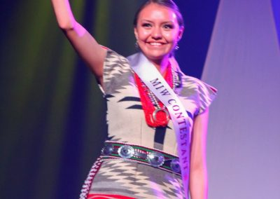 Miss Indian World contestant