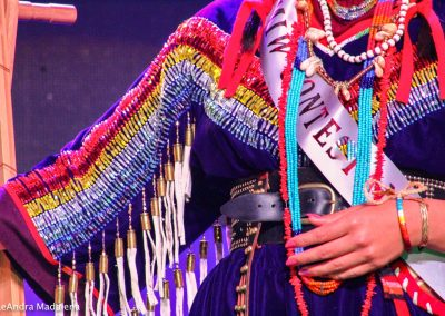Miss Indian World contestant's outfit