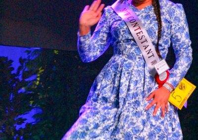 Miss Indian World contestant waving