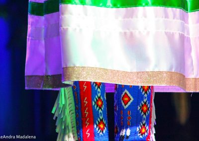 Miss Indian World contestant's boots