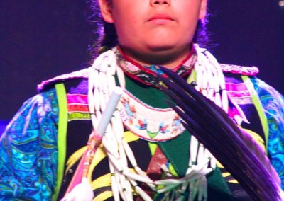 Child at Miss Indian World