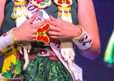 Miss Indian World contestant's jewelry
