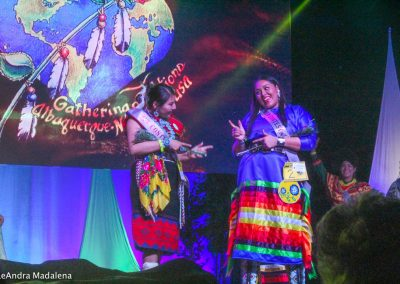 Miss Indian World contestants laughing
