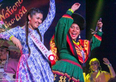 Miss Indian World contestants dancing