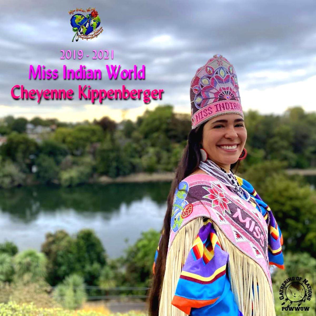 Miss Indian World Cheyenne Kippenberger