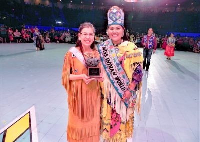Miss Indian World contestants