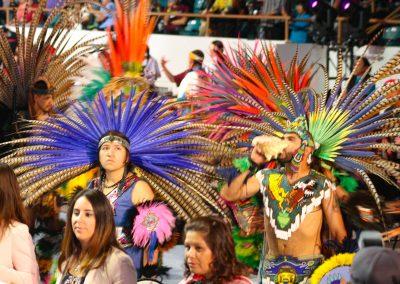 Participants at Gathering of Nations