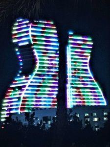 Hard Rock Hotel guitar