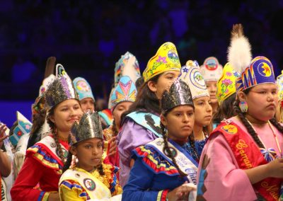 Children at Gathering of Nations