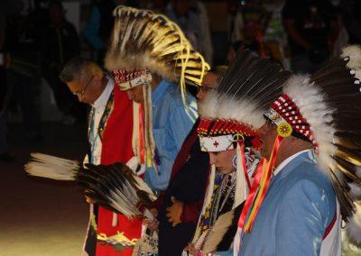 men in headdresses