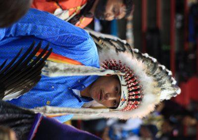 man in headdress