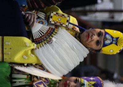 Woman at Gathering of Nations