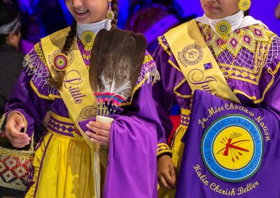 Jr. Miss Choctaw Nation contestants