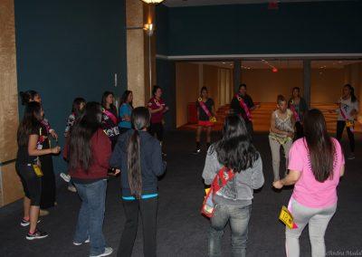 room full of contestants