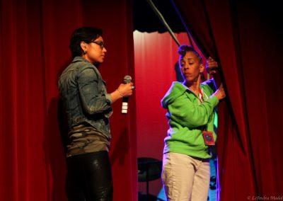 presenters backstage