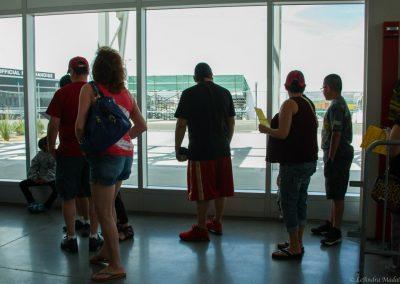 people looking outside