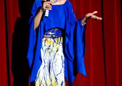 presenter speaking