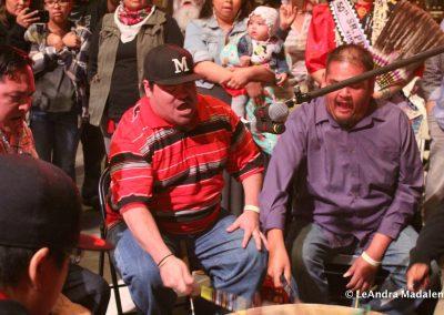 men playing drum