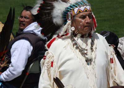 Man at Gathering of Nations
