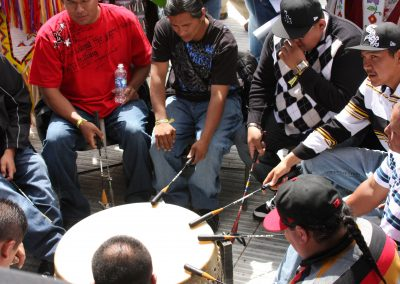 men playing drum