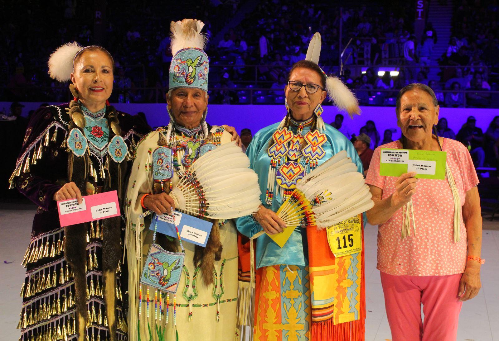 Elder Women Winners