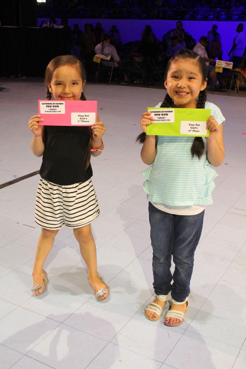 Tiny Tot Girls Winners