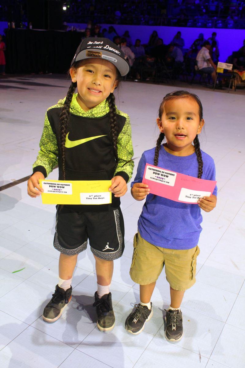 Tiny Tot Boys Winners