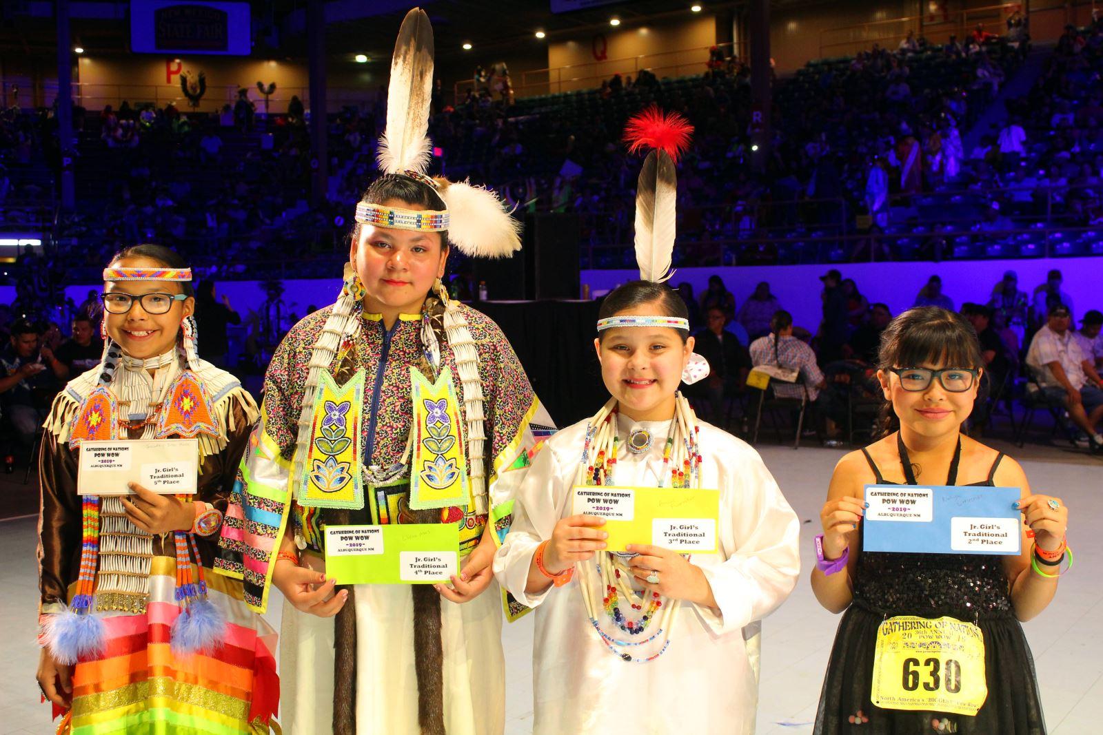 Jr. Girls Traditional Winners