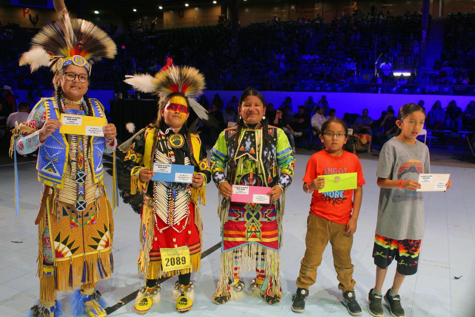 Jr. Boys Traditional Winners