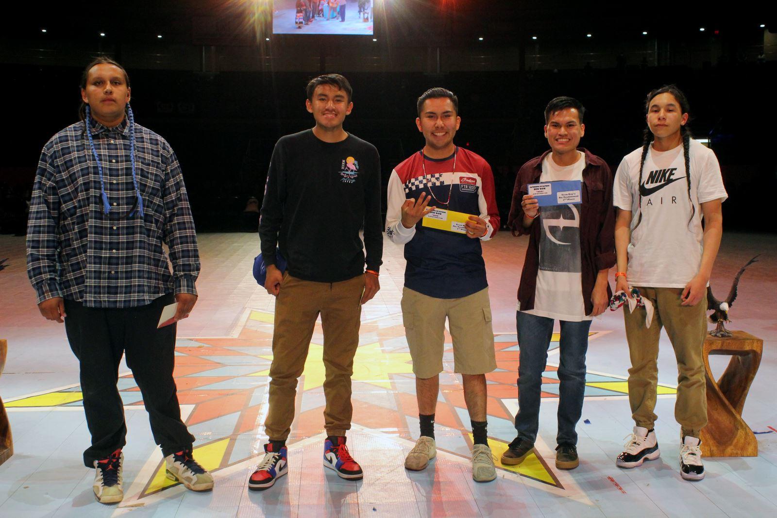 Teen Boys Northern Traditional Winners