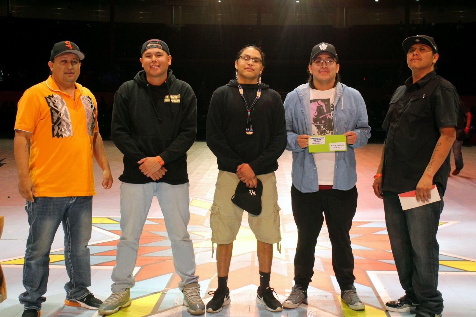 Men's Chicken Dance Winners